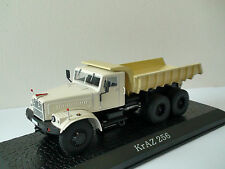 KrAZ 256 1:43  Ixo Atlas Editions, Ukrainian dump truck from Soviet era