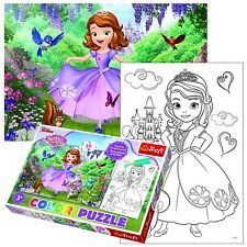 Trefl 20 Piezas Color Divertido Infantil Disney Sofia The First De Niña