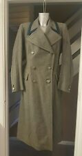 Mens Vintage Egerton Burnetts  Long Grey wool coat Period Fancy dress