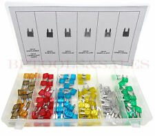 120 Pc Mini Auto Car Blade Fuse Assortment Set Auto Car Motorcycle SUV Fuses Kit