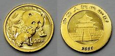 CHINA 2004 OSO PANDA 1/20 ONZA 20 YUAN MONEDA ORO SC
