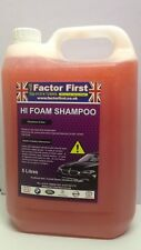 5 LITRE CONCENTRATE CAR SHAMPOO CHERRY WASH VALETING BUSINESS PRODUCTS ON SALE