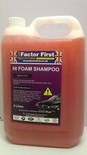 F-F Hi-Foam Wash Trade Valet Active Foam Shampoo Pressure Wash Or Bucket 5L