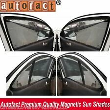 AUTOFACT Magnetic Window Sun Shades for Tata Tiago -Set of 4 - With Zipper