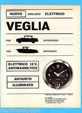 QUATTROR963-PUBBLICITA'/ADVERTISING-1963- VEGLIA BORLETTI - OROLOGIO ELETTRICO