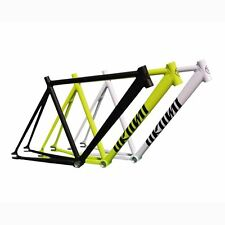 NEW Unknown Combat Fixie Allot Track Frame: HIGLIGHTER YELLOW 61 cm