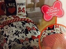 Disney Minnie Mouse Twin 6pc Complete Bed Set