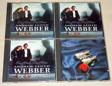 4 CD SAMMLUNG - ANDREW LLOYD WEBBER - THE MUSIC THE MAGIC VERY BEST OF STARLITE