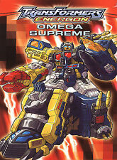 Transformers: Energon - Omega Supreme -- FS NEW DVD with Bonus Episodes
