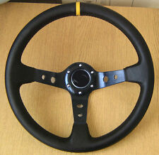 Deep Dish Rally Steering Wheel for MERCEDES w201 190 E D w123 w124 CLK SLK Vito
