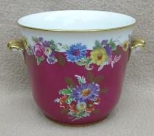 CONTINENTAL GERMAN HUTSCHENREUTHER / KUBA BAVARIA PORCELAIN FLOWER POT CACHE