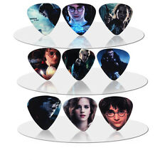 10pcs 0.71mm Harry Potter Mix Guitar Picks Plectrums Printed Both Sides