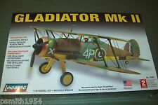 Lindberg Gloster Gladiator MkII SCALA 1:48 KIT IN PLASTICA