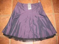 FAB Ladies MEXX purple two tone knee length lace trim party skirt 12 NWT RRP £39