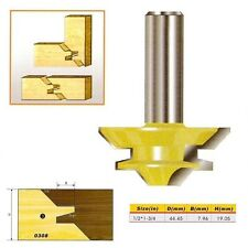 "45 Deg Medium Lock Miter Router Bit - 1/2*1-3/4 - 1/2"" Shank -"