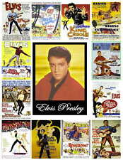 VINTAGE ELVIS PRESLEY MOVIE POSTER PHOTO-FRIDGE MAGNETS