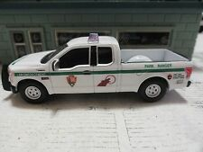 GREEN LIGHT POLICE PARK RANGER FORD F-150 NATIONAL PARK SERVICE CUSTOM UNIT
