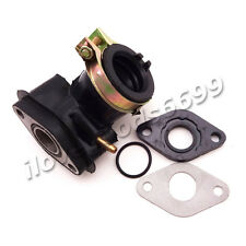 Engine Carburetor Intake Manifold Inlet Pipe Gasket For GY6 50cc Moped Scooter