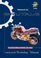 MV Agusta Service Chassis Manual 2005 BRUTALE 750 ORO & BRUTALE 750 S