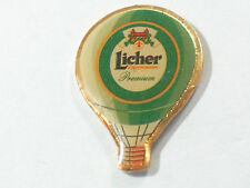 Licher Premium Private Brewery Hot Air Balloon German Beer Pin ** #48