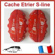 CACHE ETRIER DE FREIN XL 280MM, SLINE, S-LINE ROUGE TUNING AUDI A1, S1, A5, S5