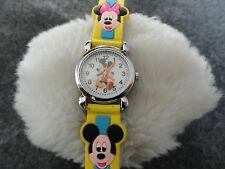 New Mickey and Minnie Mouse Quartz Watch for Ladies, Girls or Boys