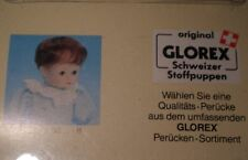 "doll wig strawberry blond 11"" to 11.5"" Glorex/Switzerland mohair"