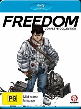Freedom - Series Collection (Blu-ray, 2011, 1-Disc) New Sealed  Region B