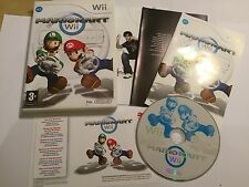 ORIGINAL NINTENDO Wii GAME SUPER MARIO KART MARIOKART TESTED COMPLETE PAL