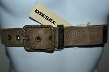 DIESEL Man's BITAPE Casual Belt  NEW Size 40  Eur 100  Hand Made In ITALY