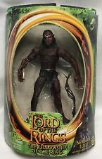 Lord Of The Rings Action Figure Newborn Lurtz W/ Battle Action