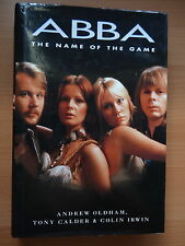 ABBA THE NAME OF THE GAME  BOOK HB DW FIRST EDITION