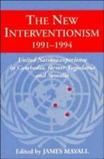 The New Interventionism, 1991-1994: United Nations Experience in Cambodia, Forme