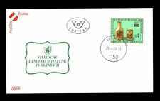 Austria 1988 de Estiria De Vidrio Y Carbón exposición Fdc #c 2822