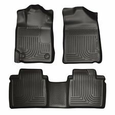 Floor Mats Toyota Camry 2007-2011 Husky WeatherBeater All Weather Liner Black