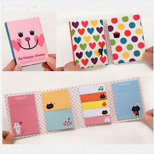 Lindo Notas Adhesivas Notes Memo Animal  Bookmark Marcador Etiqueta Pegatina /cc