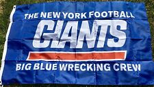 New York Giants Flag Large Indoor Outdoor Banner 3 X 5'