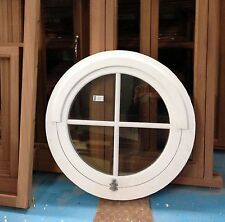 Timber Cottage Style Round Arched Circular Window Made to measure!!! Bespoke!!!