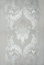 New 12x83 CHATEAU Etched Glass Sidelight Window Film Vinyl Static Cling Films