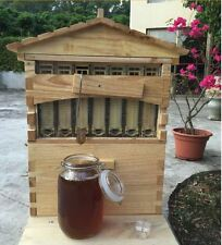 wooden Beekeeping Hive Smart Beehive for Automatic Flow Raw Honey Collection
