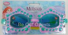 Disney Store Ariel Little Mermaid Swim Goggles For Kids New Swimwear