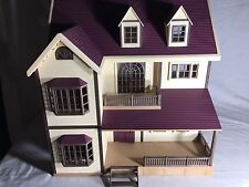 Calico critters/sylvanian families Oakwood Deluxe Manor house Repaired