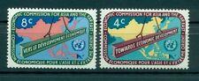 Nations Unies New York 1960 - Michel n. 86/87 - CESAP - ESCAP