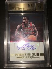 2012-13 Prestige Prestigious Picks Jimmy BUTLER auto rookie BGS 9.5 10 GEM