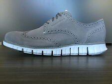 Cole Haan Men's Zerogrand Ironstone Wingtip Oxford Shoes size 8.5 $270