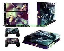 Final Fantasy 7 VII FF7 FFVII Tifa Cloud Strife Skin Sticker Decal Protector PS4