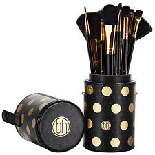 BH Cosmetics: Dot Collection - 11 Piece Brush Set Black