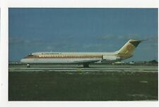 Continental Airlines Douglas DC-9-32 Aviation Postcard, A662a