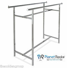 Planet Racks Heavy Duty H Straight Clothing Garment Display - Closeout Price