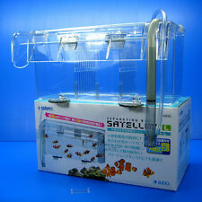 Breeding BOX satellite hanging outside Seperating Fish Fry rearing fish tank